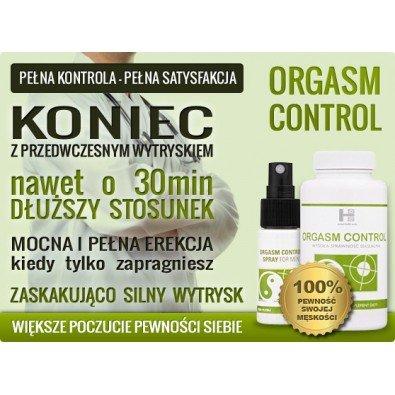 Wydłuż stosunek - 60 tabletek Orgasm Control