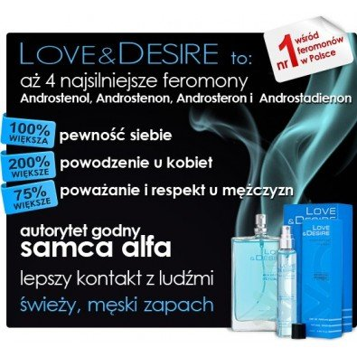 Love & Desire męskie - 100 ml