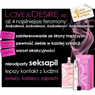 Love & Desire damskie - 100 ml