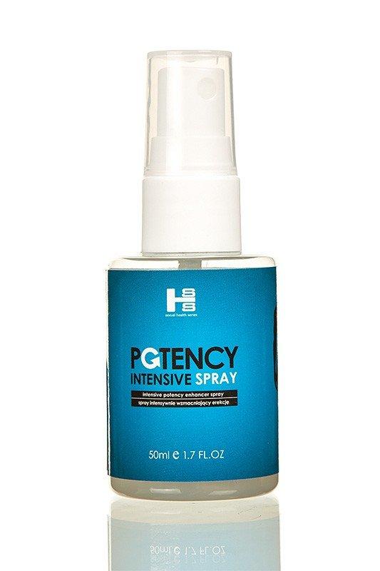 Silna i długa erekcja - Potency Spray Intensive 50 ml