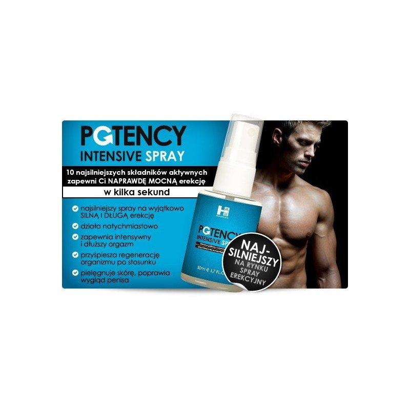 Potency Spray 50 ml - Silna i długa erekcja