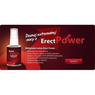 Erect Power - potężny spray na erekcję.