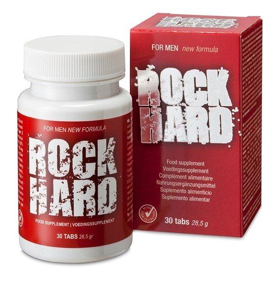 Tabletki na potencję - erekcję Rock Hard 30 szt