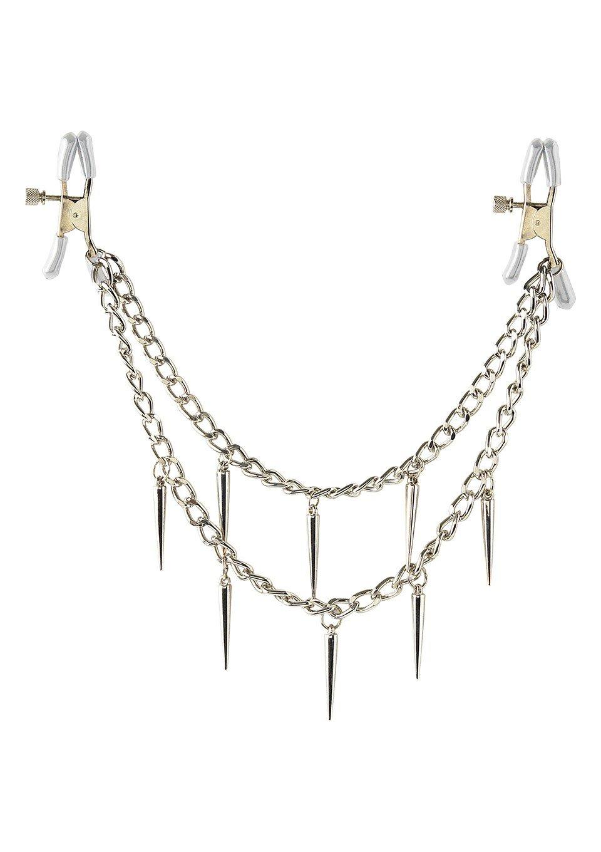 Piękny drapieżny łańcuszek na piersi
