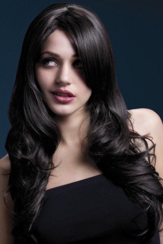 Brązowa peruka wysokiej jakości Nicole