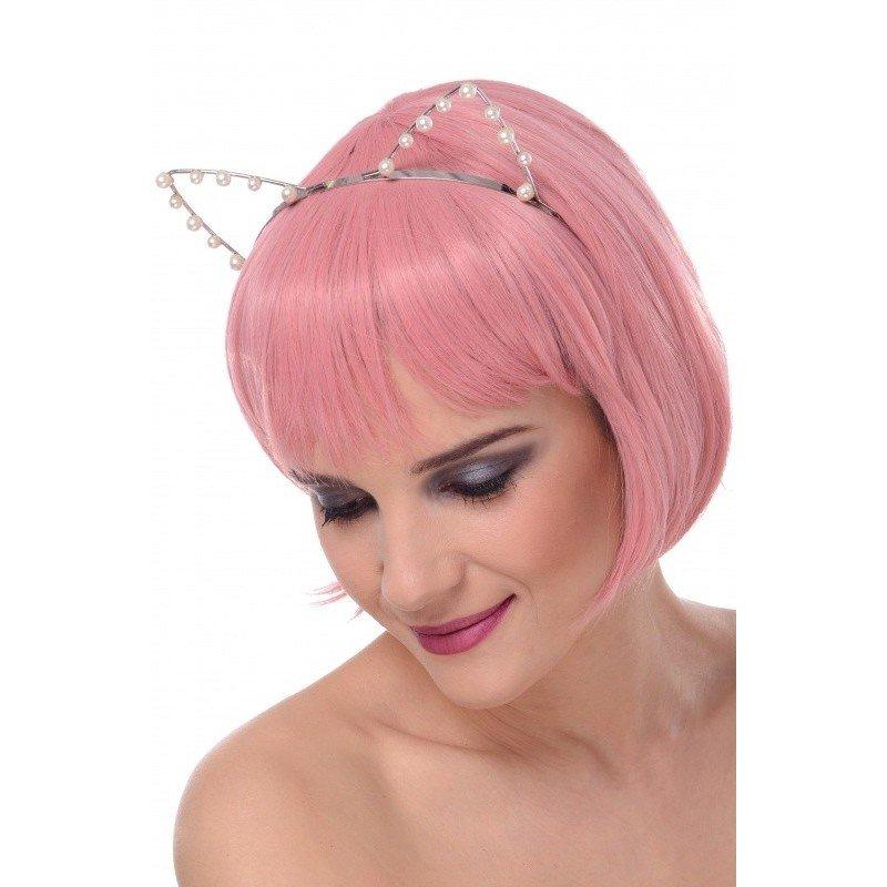 Sexi uszy kotki z perełkami