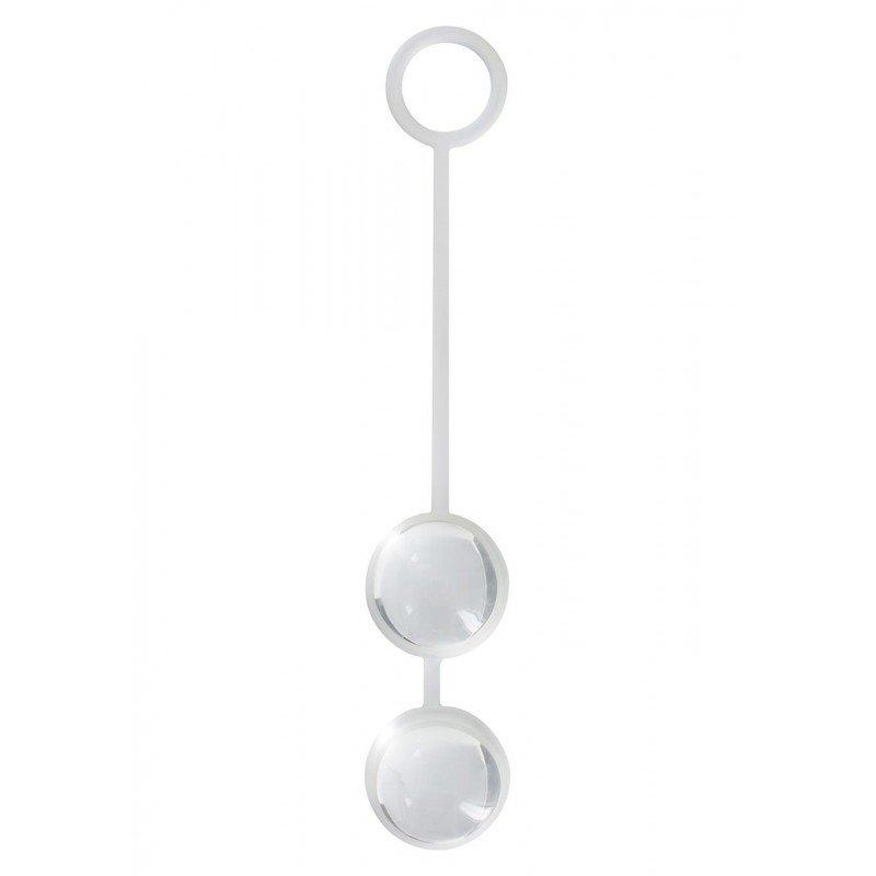 Kulki - Duo Love Balls - silikon 16 cm / 2,5 cm