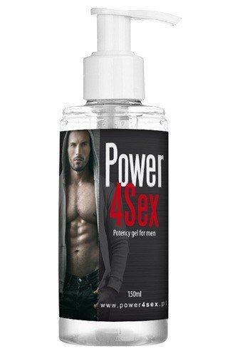 Power 4Sex Żel poprawiający potencję i orgazm 150 ml