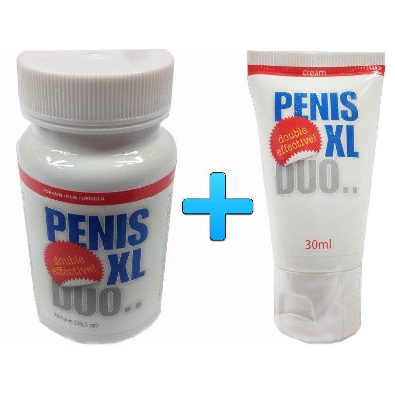 Powiększenie penisa i erekcja - Penis XL zestaw 30 tabletek + krem 30 ml