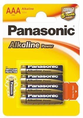 Baterie alkaliczne małe paluszki AAA 4 sztuki