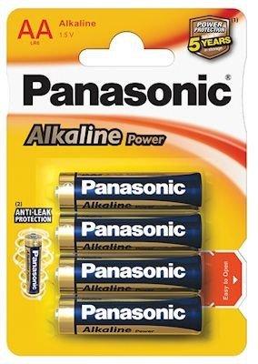 Baterie paluszki alkaliczne AA 4 sztuki