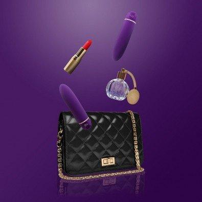 Wibrator w eleganckiej kosmetyczce - 7 trybów wibracji