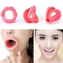 Silikonowe usta do ćwiczeń mięśni twarzy