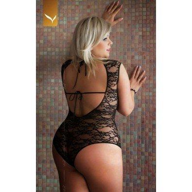 Czarne body Anna SLC