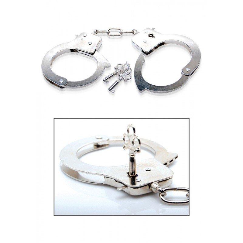 Metalowe kajdanki