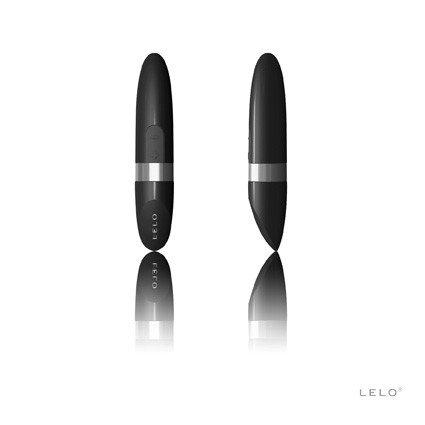 Dyskretny czarny wibrator Lelo ładowany przez USB