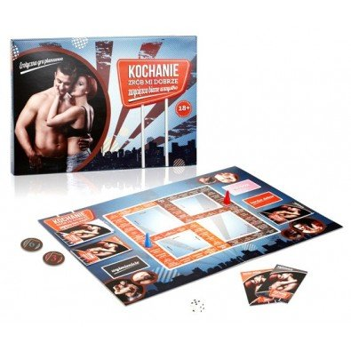 Erotyczna gra planszowa dla par
