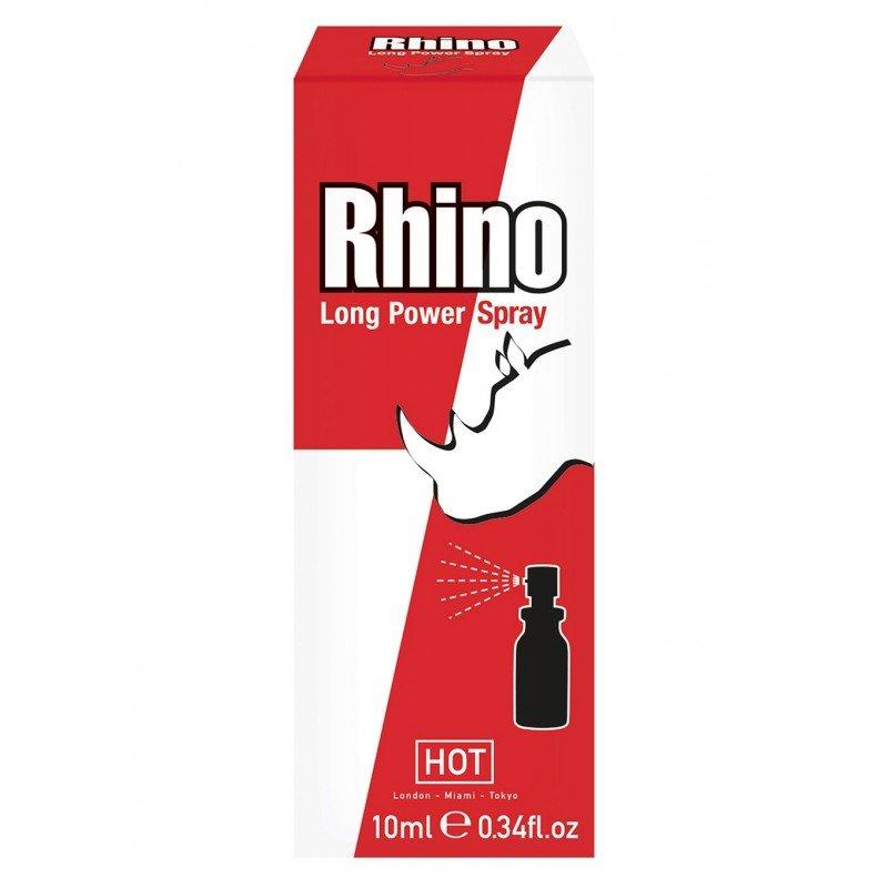 Hot Rhino Long Power Spray - spray opóźniający wytrysk