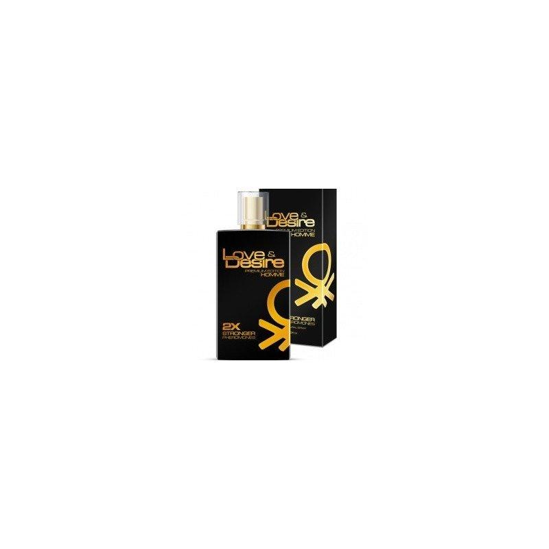 Feromony Love & Desire PREMIUM EDITION - męskie