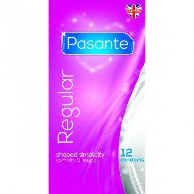 Anatomiczne prezerwatywy Pasante 12 sztuk