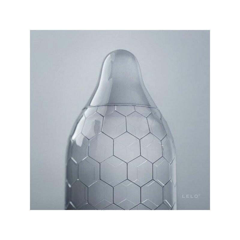 Ekskluzywne prezerwatywy lateksowe marki Lelo (3 sztuki)
