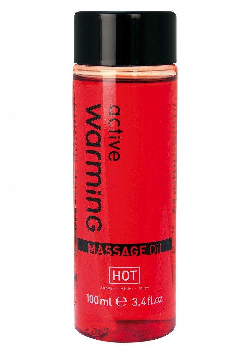 Rozgrzewający olejek do masażu Active Warming 100 ml
