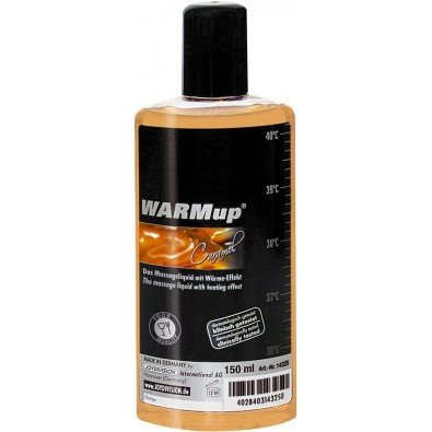 Olejek do masażu WARMup karmel 150 ml