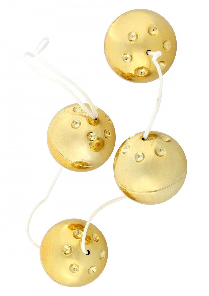 Złote kuleczki analne