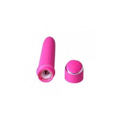 Różowy elegancki wibrator klasyczny