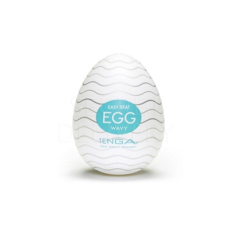 Jajo Masturbator - Tenga Egg Wavy