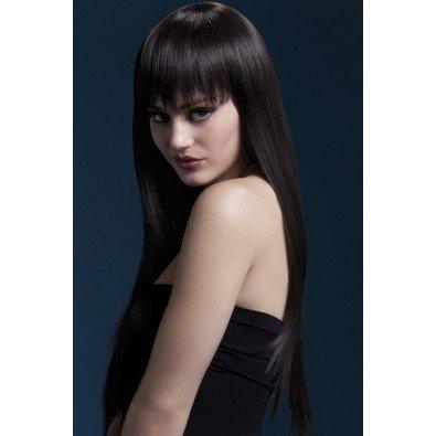 Peruka Jessica - brązowa