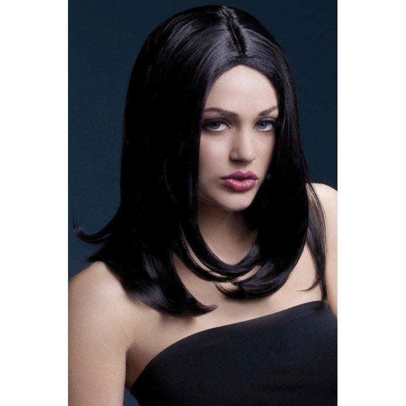 Peruka Sophia - czarna