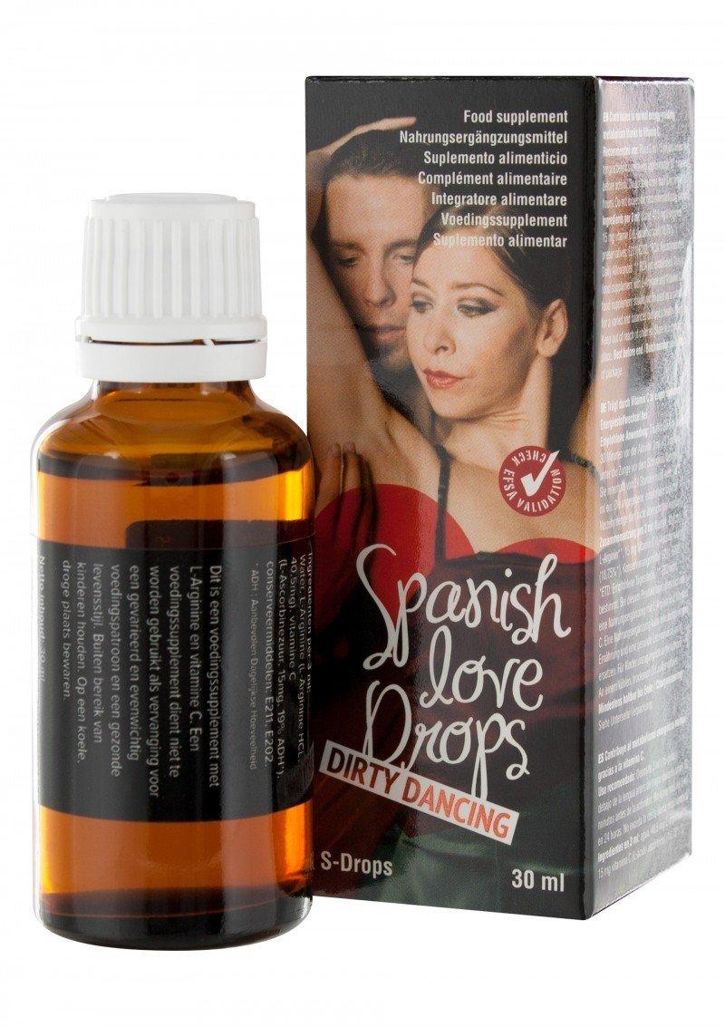 Hiszpańska mucha 30 ml - Love drops