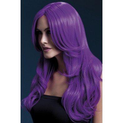 Fioletowa peruka wysokiej jakości