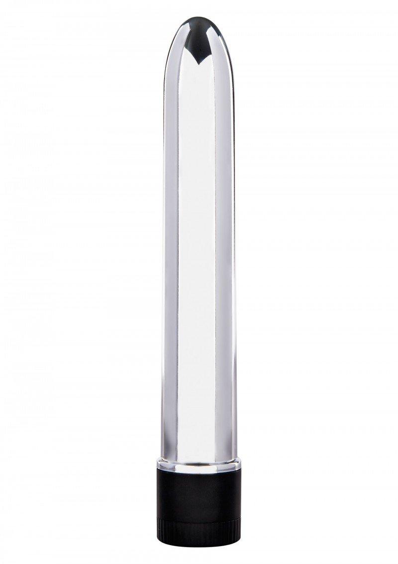 Ładny wibrator w srebrnym kolorze
