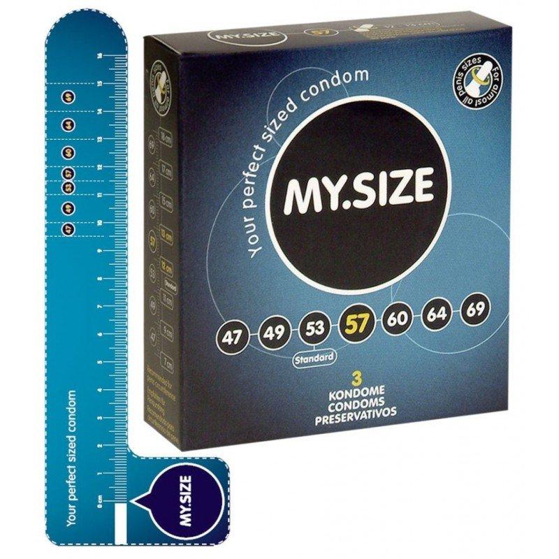 Prezerwatywy ze zwiększoną średnicą 3 sztuki