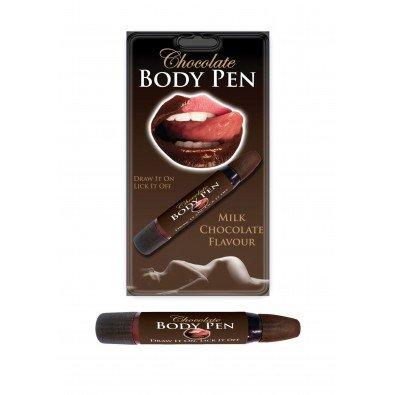 Smaczna czekolada do malowania ciała w pisaku