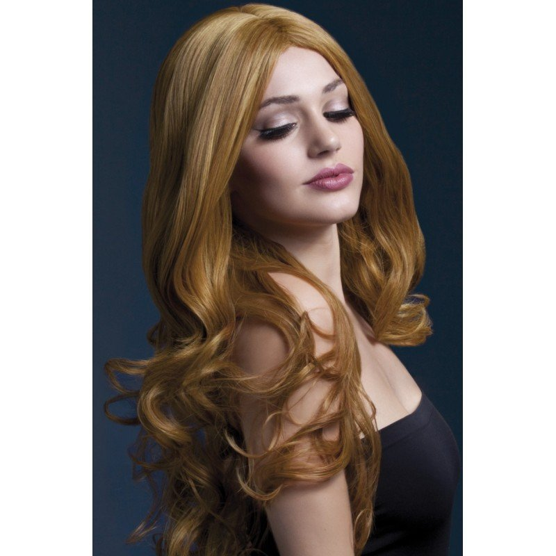 Brązowa peruka wysokiej jakości