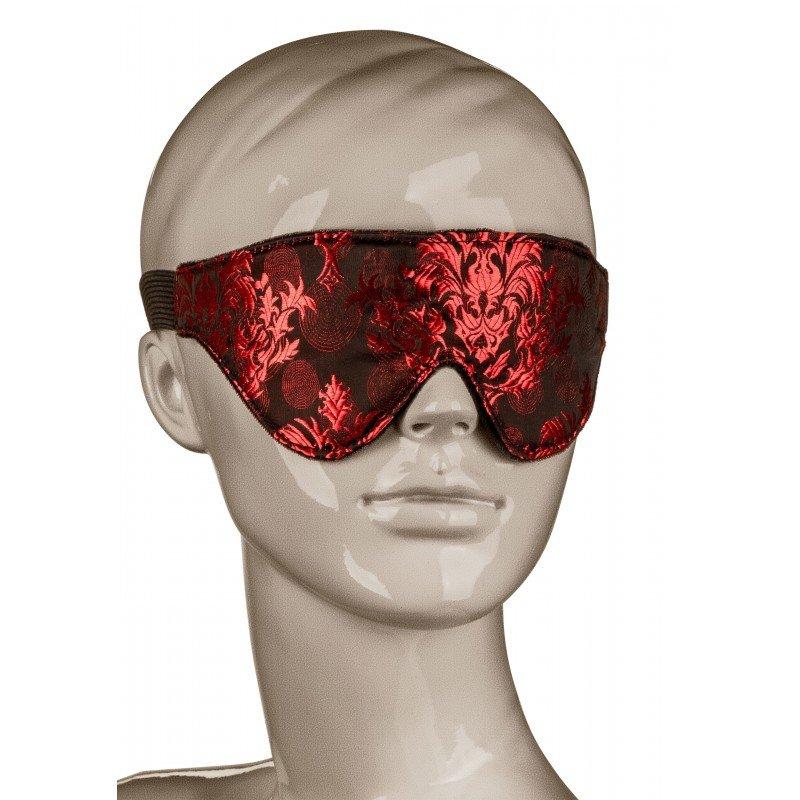 Elegancka zaciemniająca maska na oczy