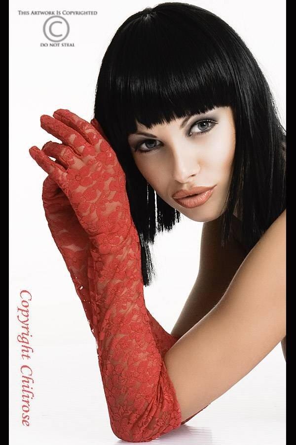 Koronkowe rękawiczki Chilirose