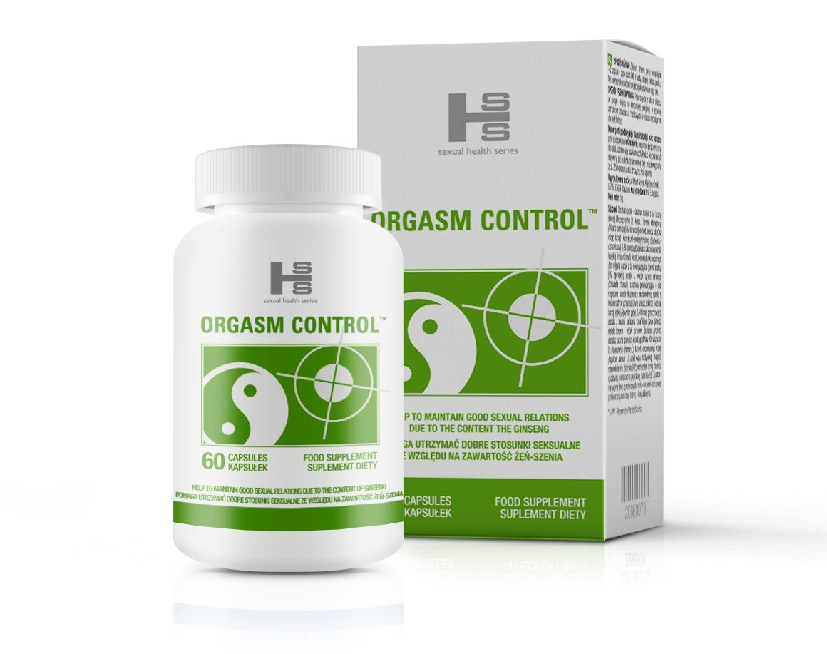 Orgasm Control 60 szt - kapsułki na wydłużenie stosunku