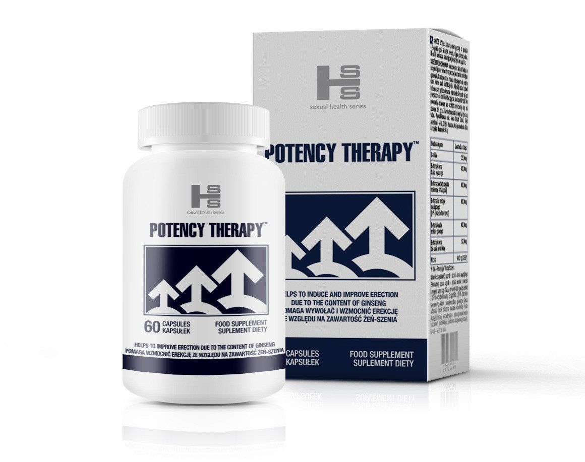 60 kapsułek na potencję Potency Therapy