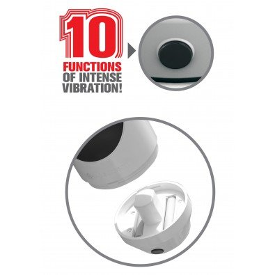 Realistyczny masturbator - 10 funkcji wibracji 8160