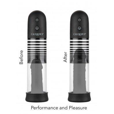 Pompka do powiększania penisa z pierścieniem erekcyjnym 8252
