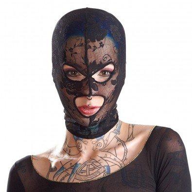 Siateczkowa maska z wycięciami na oczy i usta 8348