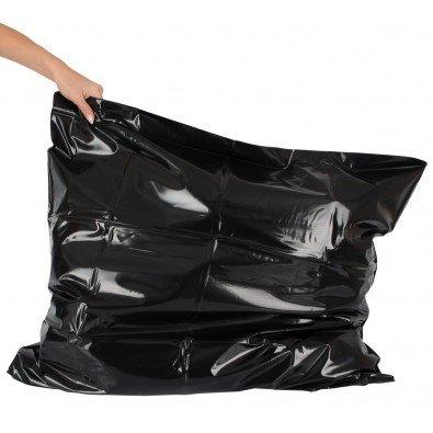 Poszewka zmywalna na poduszkę - czarna 8352