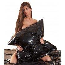 Poszewka zmywalna na poduszkę - czarna 8353