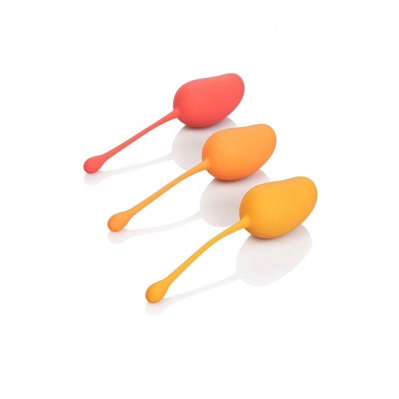 Zestaw kulek gejszy do ćwiczeń mięśni Kegla 8615