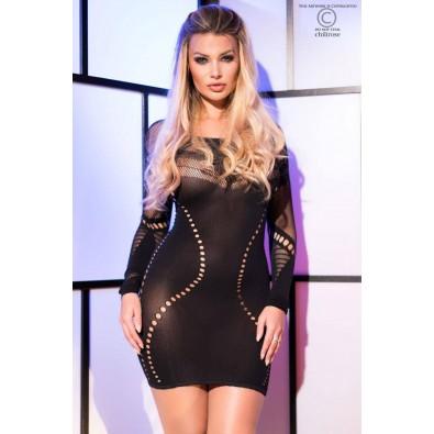 Siateczkowa sukienka 8907