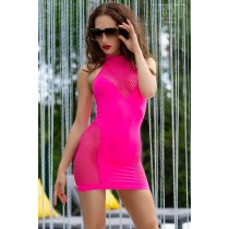 Neonowa obcisła sukienka 8953